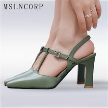 plus size 34-46 Sexy Summer High Heels Women Sandals Pointed Toe Footwear Fashion T Strap Ladies Party Bride wedding Pumps shoes bonjomarisa 2018 wholesale brand design shoes women t strap sandals summer shoes woman fashion date party footwear