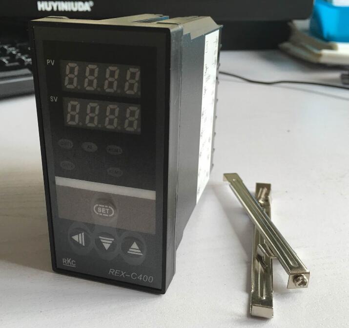 REX-C400 controlador de temperatura Digital Dual RKC REX-C400FK02-M * una pantalla LED PID salida de relé del controlador de temperatura Regalo Idea despertador Digital con termómetro higrómetro humedad temperatura reloj de mesa escritorio cargador de teléfono