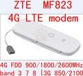 Desbloqueado zte mf823 wifi usb dongle usb stick tarjeta de datos de banda 3 7 8 adaptador de Tarjeta SIM 4g Móvil Wi-fi Dongle PK e3372 e3276 e5776