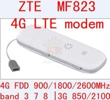 Entsperrt zte mf823 wifi usb dongle usb stick datacard band 3 7 8 Mobile Sim-karte 4g adapter Hotspot Dongle PK e3372 e3276 e5776