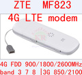 Zte mf823 desbloqueado wifi dongle usb stick usb datacard faixa 3 7 8 adaptador de Cartão SIM 4g Móvel Hotspot Dongle PK e3372 e3276 e5776