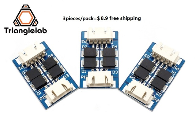 Trianglelab high quality 3d printer part TL-Smoother  addon module for 3D pinter motor drivers free shipping reprap  mk8  i3