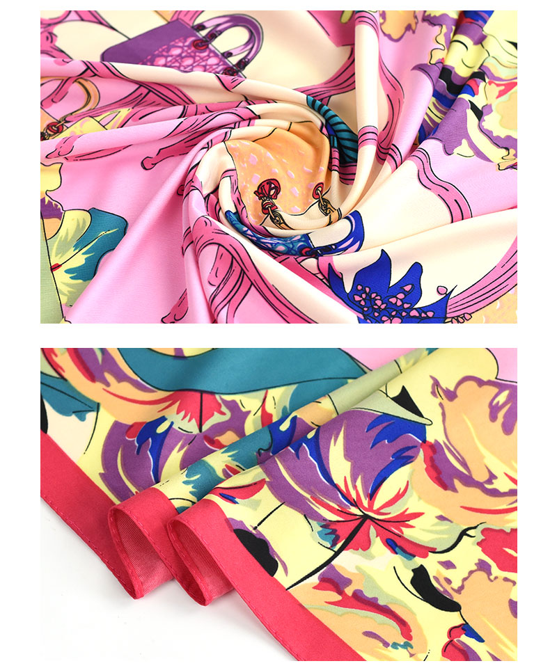 Small Silk Scarf Women Career | Lightweight Scarves | Up to 60% Off Now