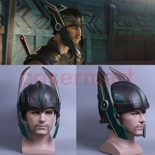 2017 Thor 3 Ragnarok Helm Cosplay Thor Helm PVC Masker Handgemaakte Halloween Masker Caps Nieuwe