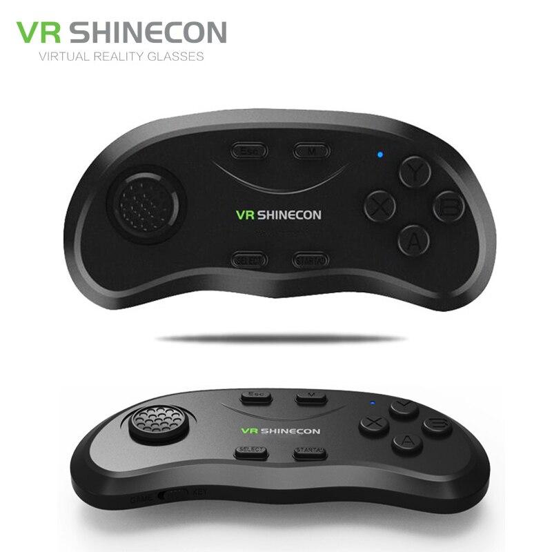 Shinecon Universale VR Controller Wireless Bluetooth Joystick Gamepad Musica A Distanza Selfie Giochi 3D per IOS Android PC TV