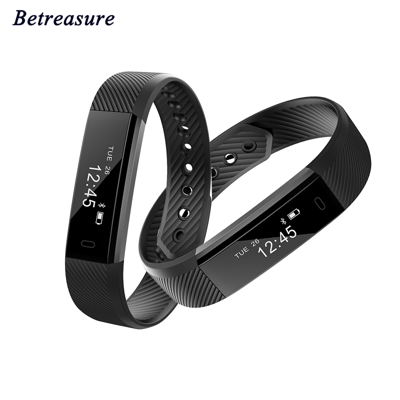 Bluetooth Smart Bracelet ID115 Pedometer Fitness Tracker Smart Band Sleep Monitor Sport Smart Wristband For IOS Android Phone