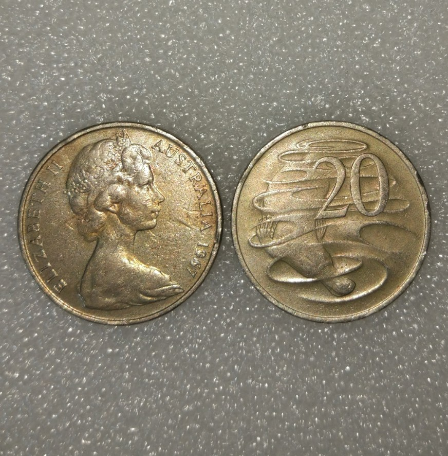 Australia 20 Cents Coin Commonwealth