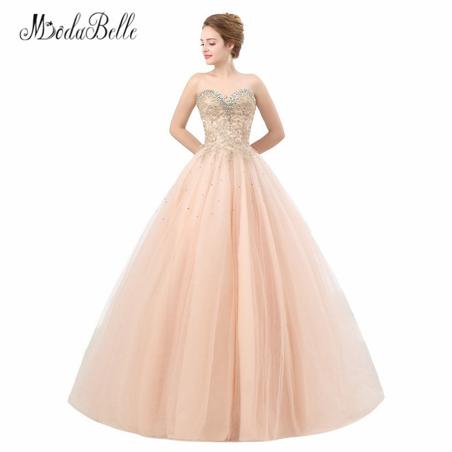 93b0ddd2bce modabelle Vestidos Para Debutante Tulle Quinceanera Dresses Applique Corset  Sweet 16 Ball Gowns Prom Dresses Young Ladies 2018
