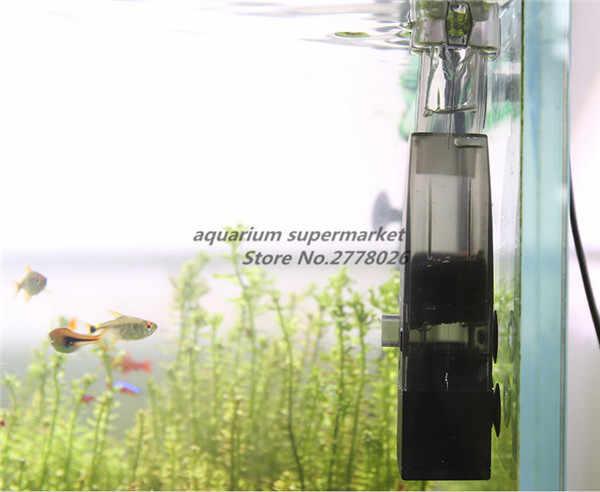 1 piece Atman MK-230 đen tự suctlon tốt chức năng điện bề mặt skimmer lọc cho aquarium