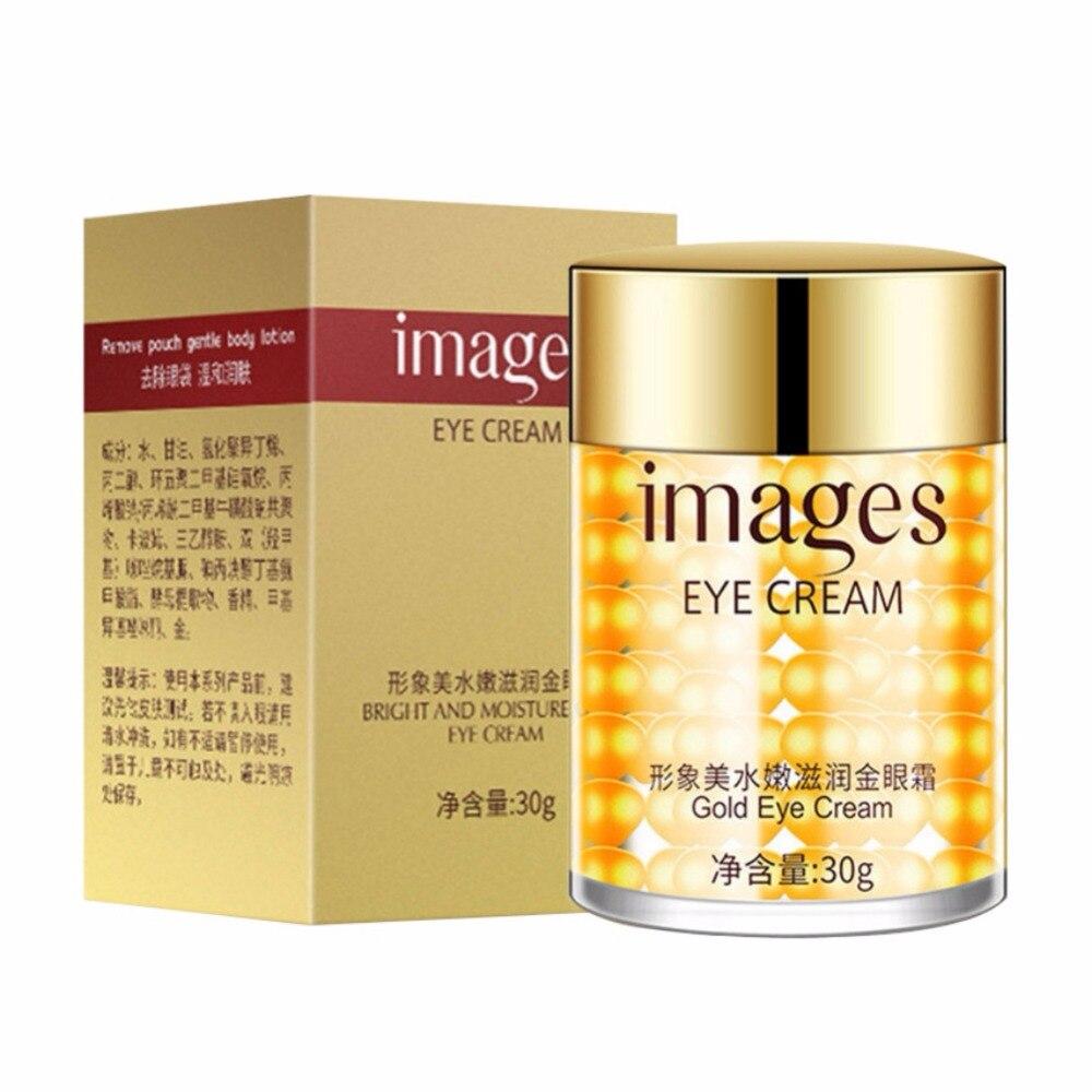 Golden Eye Cream Dark Circle Eye Bag Fine Lines Eye Treatment Anti-Aging Firming Cream Eye Essence Maquiagem