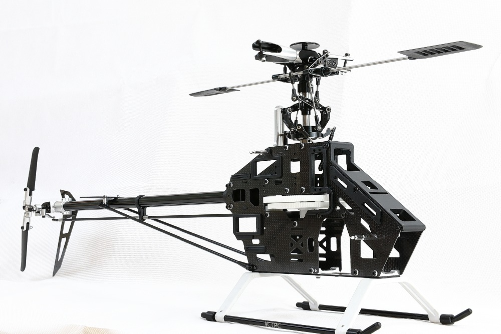 RC remote 6ch 3D Helicopter 500 SE 6ch Kit carbon fiber for align trex heli image