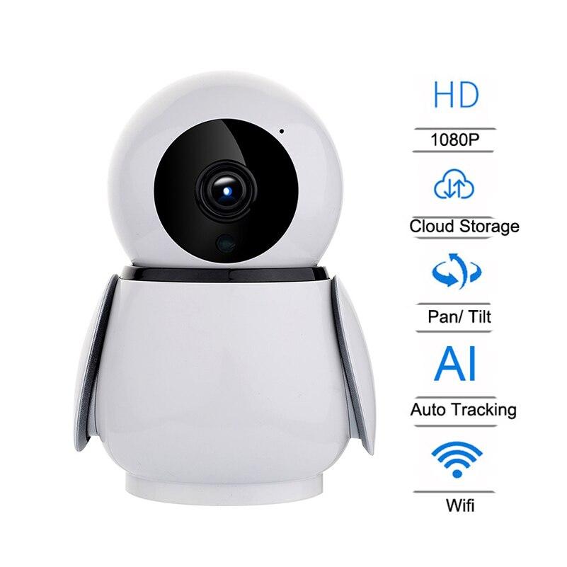 HD 1080P Cloud Storage Wireless IP Camera Intelligent Auto Tracking Human Home Security Surveillance CCTV Network Wifi CamHD 1080P Cloud Storage Wireless IP Camera Intelligent Auto Tracking Human Home Security Surveillance CCTV Network Wifi Cam