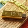 Newest Design Golden Usb Flash Drive 512GB Pendrive 128GB 16GB 32GB Gold Bar USB 3.0 Flash Memory Stick Disk Key Pen Driver 8GB