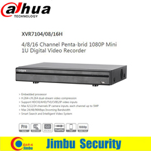 Dahua Smart Search XVR Digital Video Recorder XVR7104H XVR7108H XVR7116H 4ch 8ch 16ch Support HDCVI/AHD/TVI/CVBS/IP video