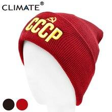 CLIMATE Men Beanie Hat Men CCCP Hat Sovi
