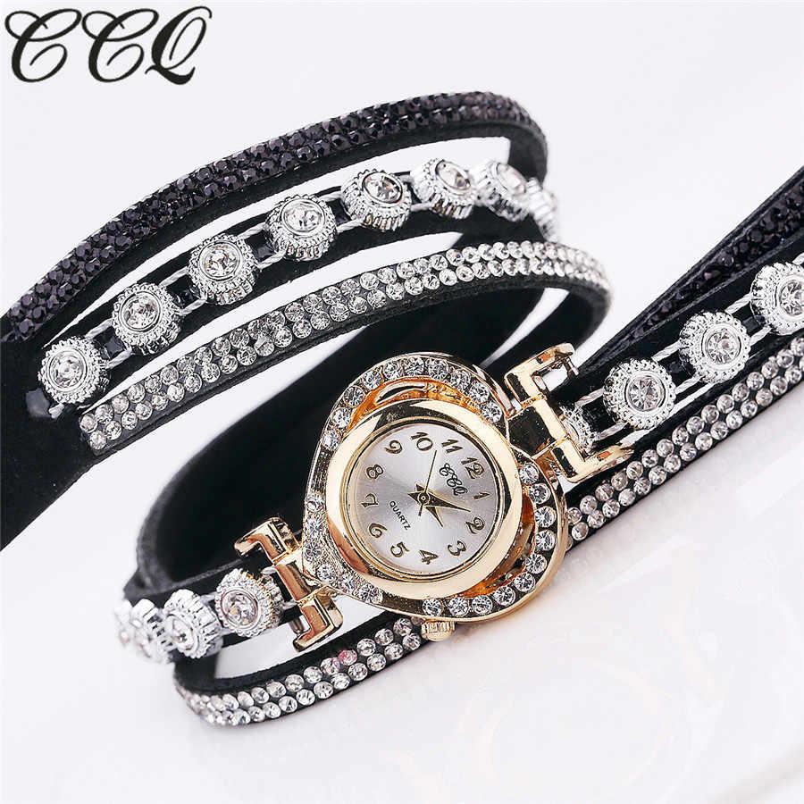 # 5001ccq feminino vintage strass cristal pulseira dial analógico relógio de pulso quartzo reloj mujer nova chegada freeshipping venda quente