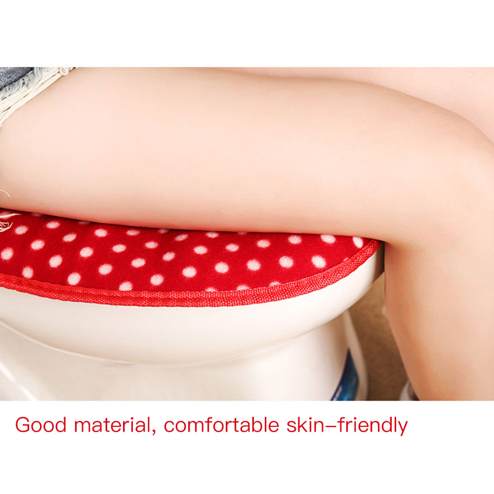 Plush Comfortable Toilet Seat Mat Warm Closestool Pad NEW Cover Cute Home Supplies Dorpshipping