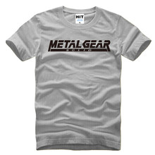 Metal Gear Solid Letter T-Shirt