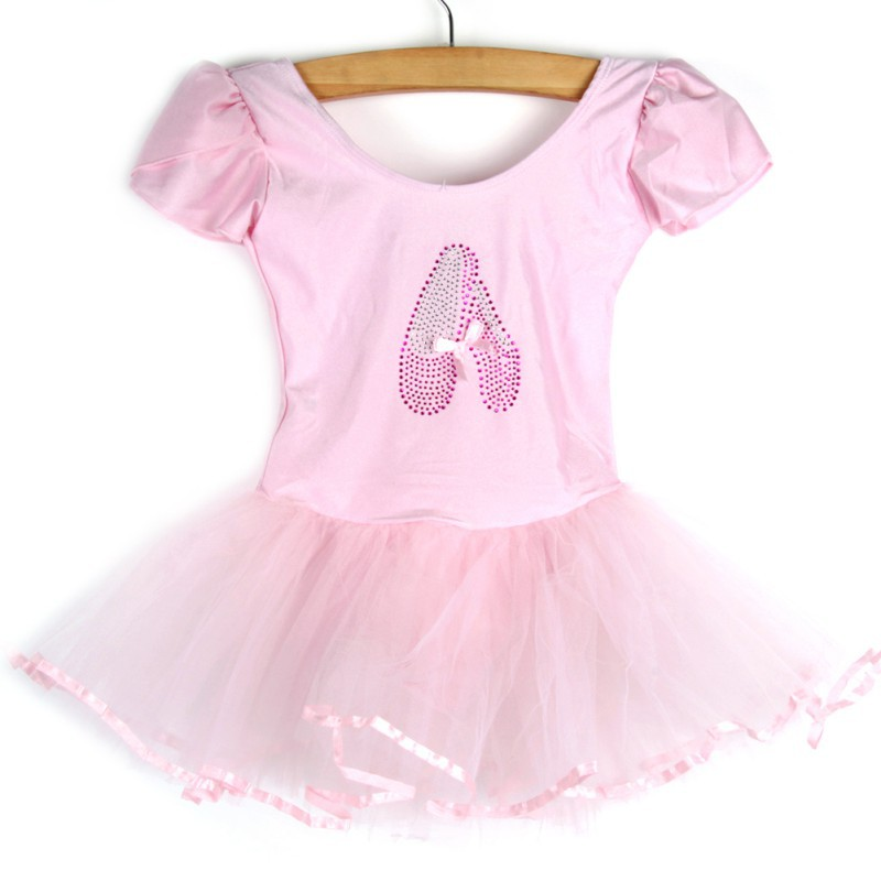 Girls Kids Baby Candy Color Tutu Dress Dance Costumes Ballet Dancewear 3-7Y girls gymnastics ballet dance tutu show skating dancewear party skating dress 2 8y kids leotard dress princess for 3 14y