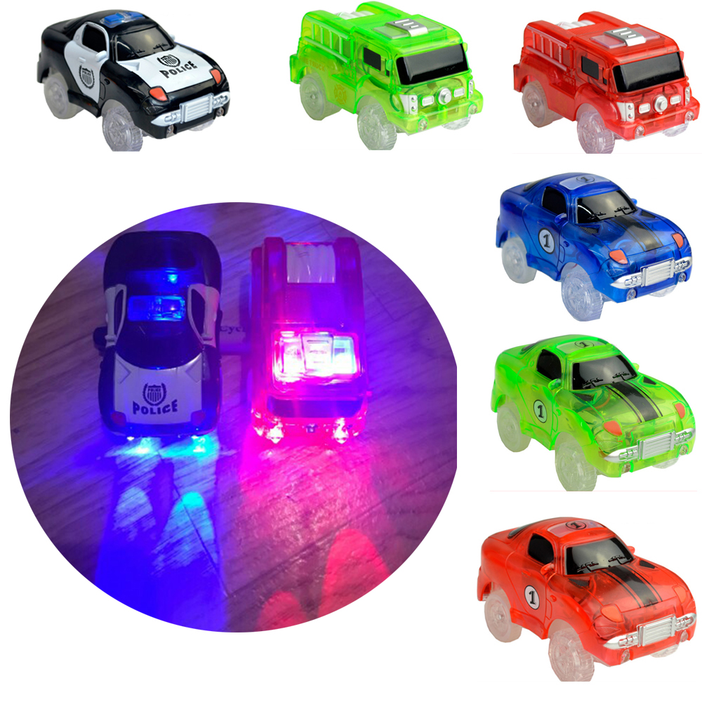 Toys & Hobbies Electronics Car Flashing Lights Magic Glow Tracks Car Led Lights Glowing Track Gift For Children Color Random Various Styles