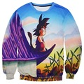 Harajuku style fashion dragon ball 3D Crewneck Sweatshirt funny printed Naruto hoodies casual women/men cartoon pullover hoodie