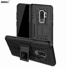 hot deal buy idools case for samsung galaxy s9 plus s9+ s9 mobile phone accessories armor back cover pc bags cases for samusng galaxy s9 plus