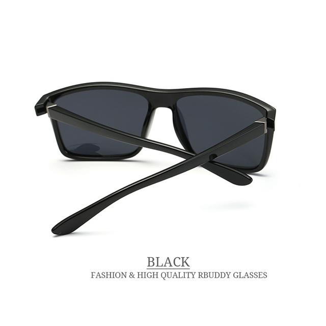 Men Polarized Square sunglasses