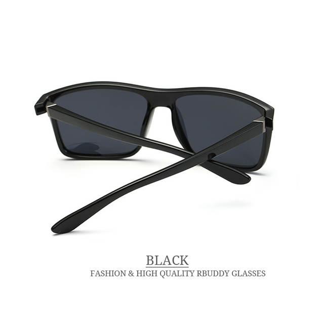 6af6dfd63 RUDIMENTAR 2019 Óculos De Sol dos homens Polarizados Quadrados óculos de sol  Da Marca Design UV400