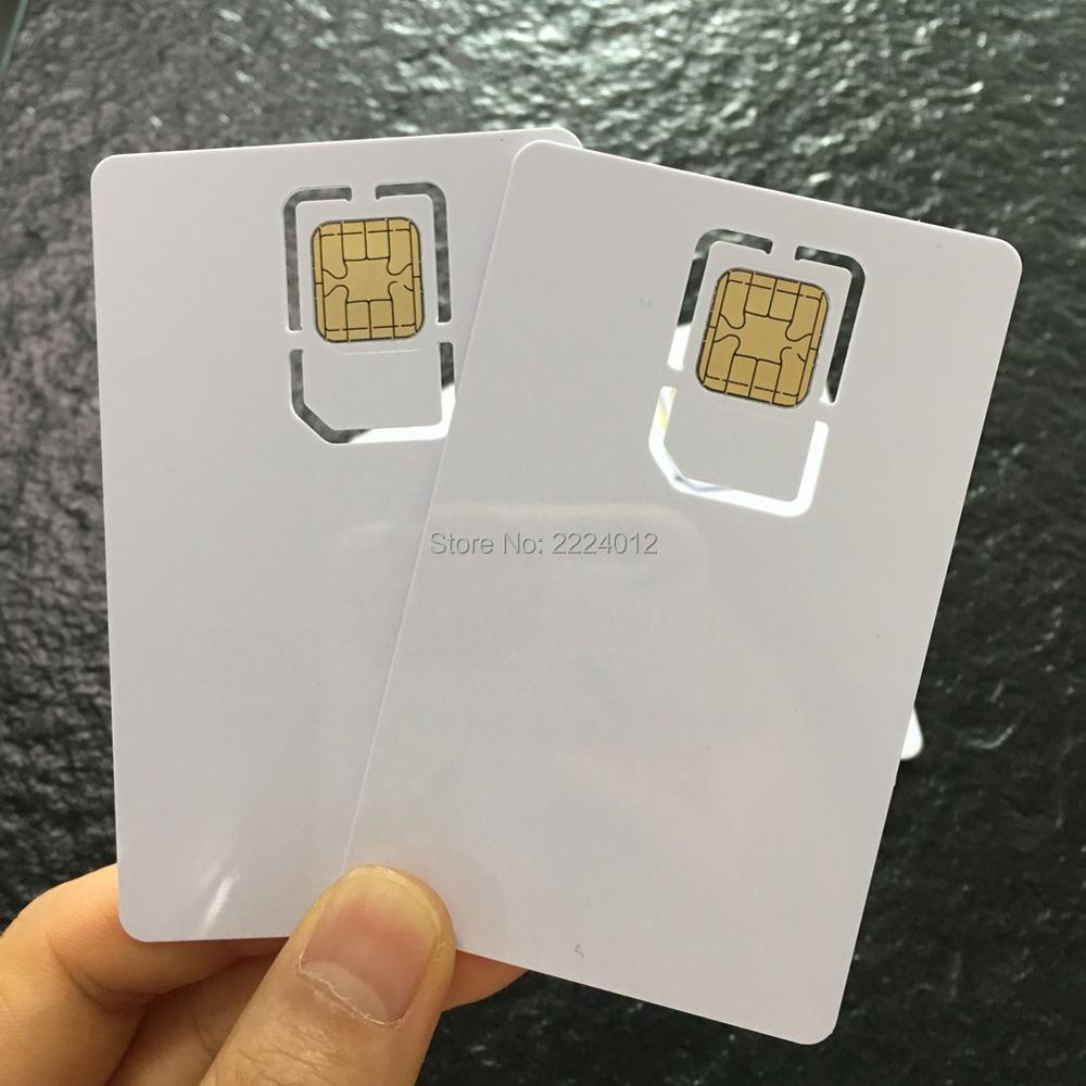 JCOP J2A040 40K with 2 Track HiCO Magstripe SIM Size 2FF Standard 3FF Micro Comobo Smart Card + TK Value