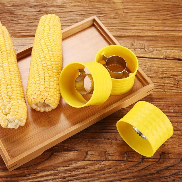 Creative Home Gadgets Corn Stripper Cob Cutter Remove Kitchen Accessories