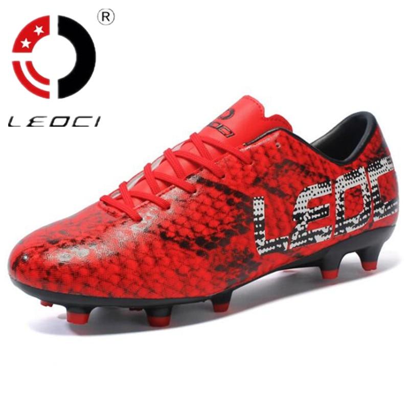 LEOCI Outdoor Sneakers Botines Soccer