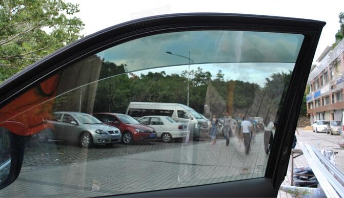ФОТО Window Visor Vent Shade Rain/Sun/Wind Guard 4pcs For Mercedes Benz GLA X156 2014 2015
