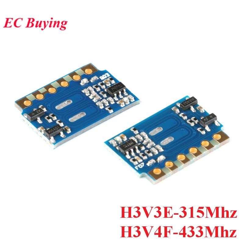 315MHz 433MHz Superheterodyne RF Transmitter Module Wireless Remote Control Receiver Module H3V3E-315M H3V4F-433M ASK DIY Kit electronic component