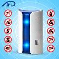 1pc mais novo repeller de pragas ultra-sônica eletrônico rejeição de pragas plug in dispositivo rato rato mouse anti mosquito repeller eua/ue plug