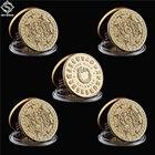 5PCS/Lot Mexico Gold...
