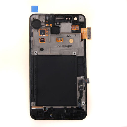 Brand new LCD Display Touch Screen Digitizer Assembly With FRAME  For Samsung Galaxy S2 SII i9100 Black Free Shipping brand new lcd for samsung galaxy a3 a3000 a300 a300x a300f screen display with touch digitizer assembly