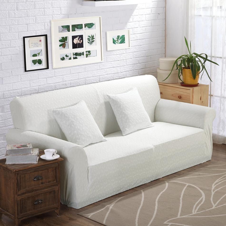 Stretch Sofa Slipcover White