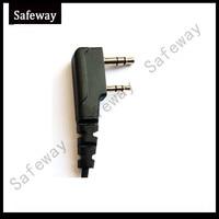 עבור baofeng שתי דרך טוקי אוזניות רדיו taklie האוזנייה earbud עבור Baofeng עבור KENWOOD שתי סיכות משלוח חינם (2)