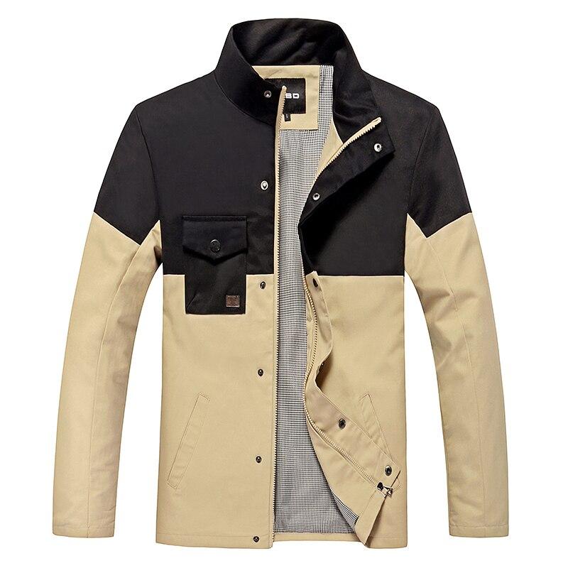 Nove jesenske in zimske moške bombažne jakne stoji ovratnik moške - Moška oblačila - Fotografija 1
