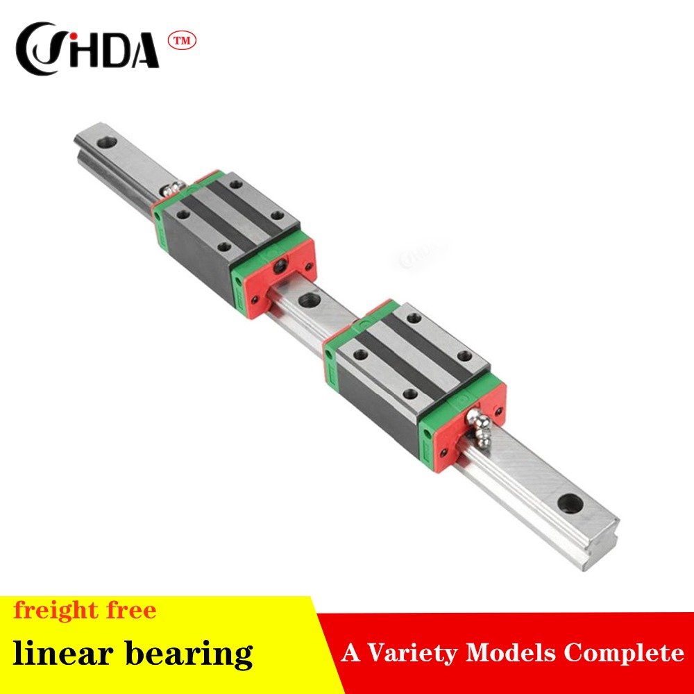 freight free 1Pcs Linear guide HGR + 2Pcs HGH or HGW Optional size HGH15 HGH20 HGH25 HGH30 HGH35 HGH45  standard CNC partsfreight free 1Pcs Linear guide HGR + 2Pcs HGH or HGW Optional size HGH15 HGH20 HGH25 HGH30 HGH35 HGH45  standard CNC parts