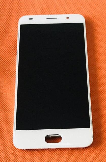 Tela touch + display lcd + carcaça original, usado para umidigi umi g mtk6737 quad core 5.0 Polegada hd grátis envio do frete