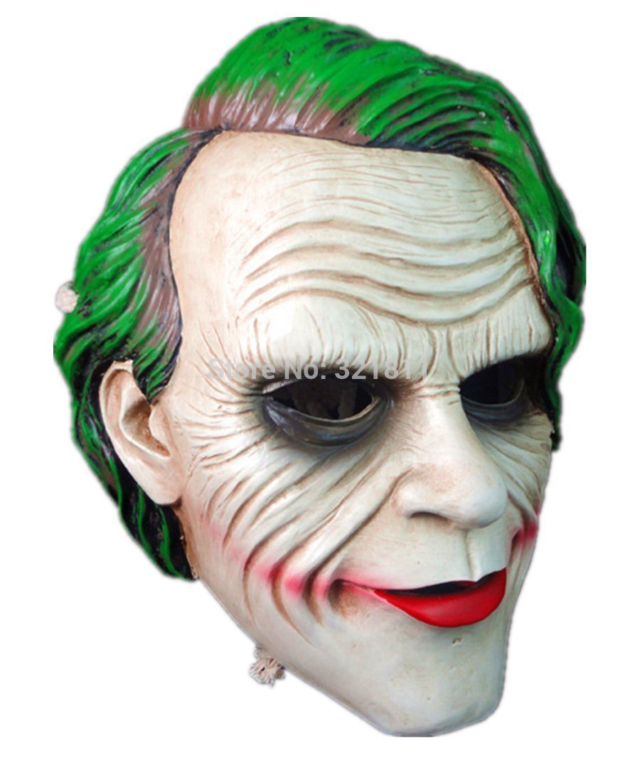 Resin Batman Dark Knight Joker Mask In Party Masks From Home
