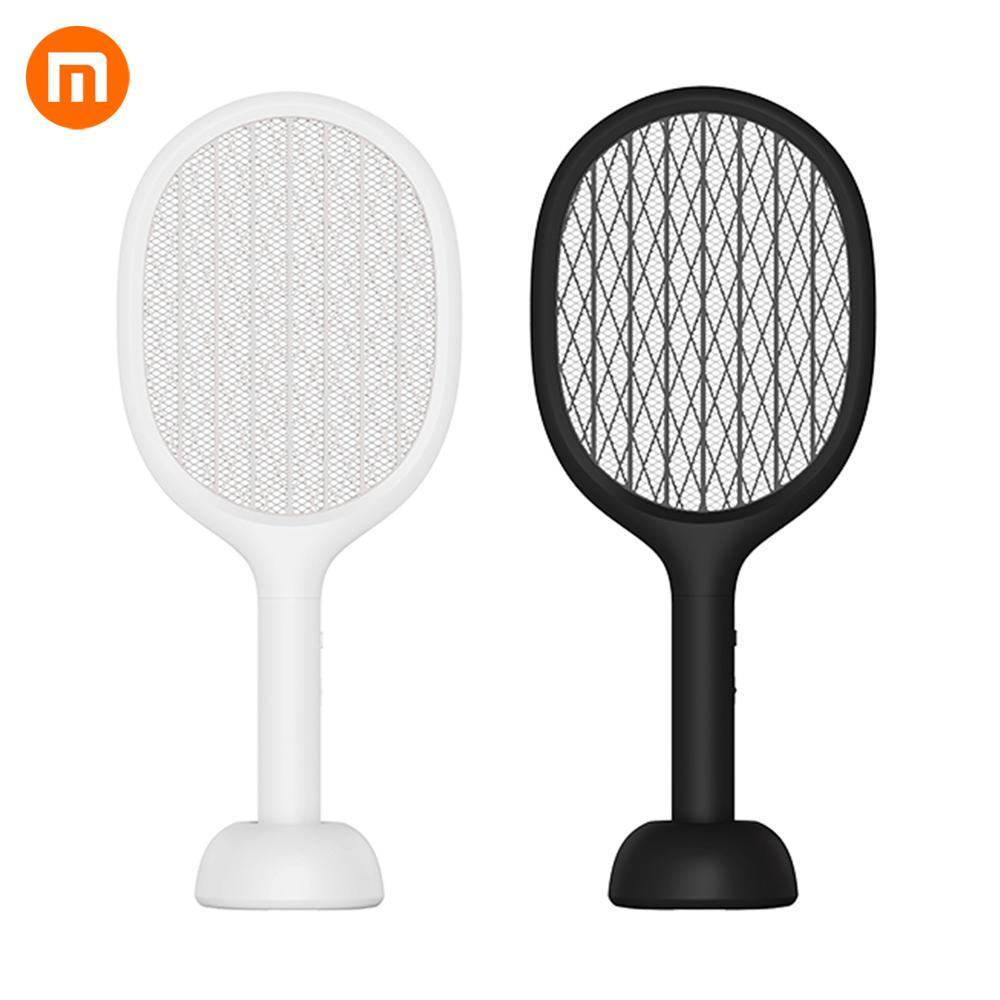 Xiaomi Solove P1 Elétrica Mosquito Swatter Insect Fly Bug Mosquito Dispeller 360nm UV Luz Dobro do Tamanho Anti-Choque elétrico net