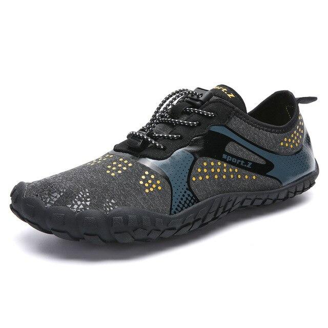 Outdoor men shoes Women Aqua Swimming Footwear Seaside Walking Cheaper Breathable Quick dry Beach Five fingers Shoes Sapatilhas