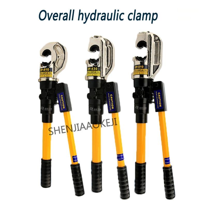 Pince hydraulique intégrale conception à deux vitesses pince à sertir semi automatique pince à sertir fil pince à sertir EP 410/430/510 1 pc