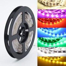 5 м/лот RGB светодиодный светильник, не водонепроницаемый 300 светодиодный s SMD 2835 12 В светодиодный светильник, белый/теплый белый/синий/зеленый/красный/RGB светодиодный светильник