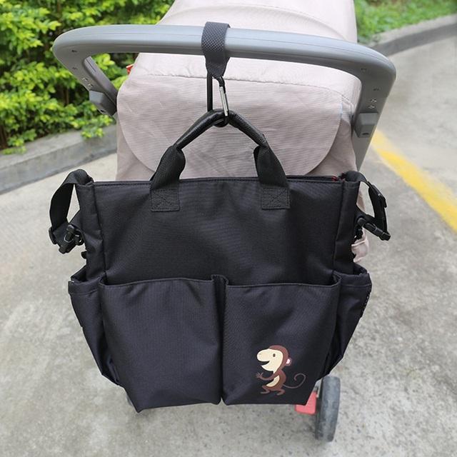 Novo Organizador Saco De Armazenamento Carrinho De Criança Carrinho de Bebê Infantil Saco de Fraldas Multifuncional Conveniente Carrinho de Saco de Acessórios
