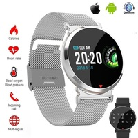 E28 Smart watch Waterproof Heart Rate Sleep Monitor Blood Pressure Women men Clock Smartwatch Wristband For Facebook Android IOS
