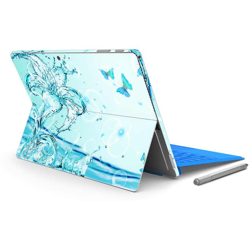 Хороший дизайн для микро поверхности Pro4 кожи Стикеры для Surface pro 5 назад большая наклейка Tablet notebook винил Стикеры-0691