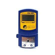 Digitale Thermometer FG 100 Soldeerbout Tip Temperatuur Tester Met 10Pcs Thermometer Sensor Vs Hakko Fg100